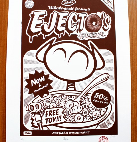 Ejectos's Cereal Screen Print