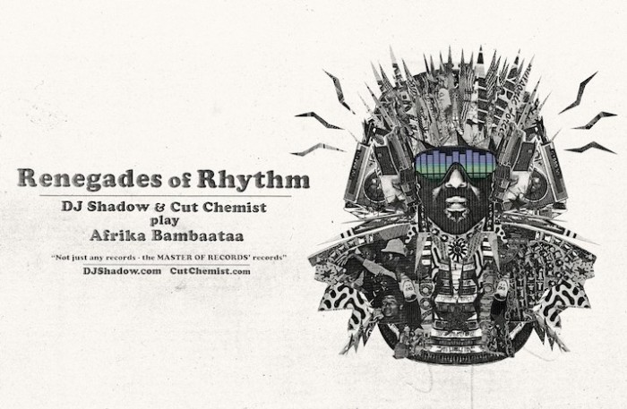 DJ Shadow Cut Chemist Renegades of Rhythm Tour
